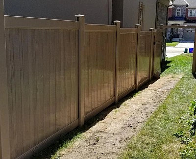 Hazelwood, 2 Rail privacy fence
